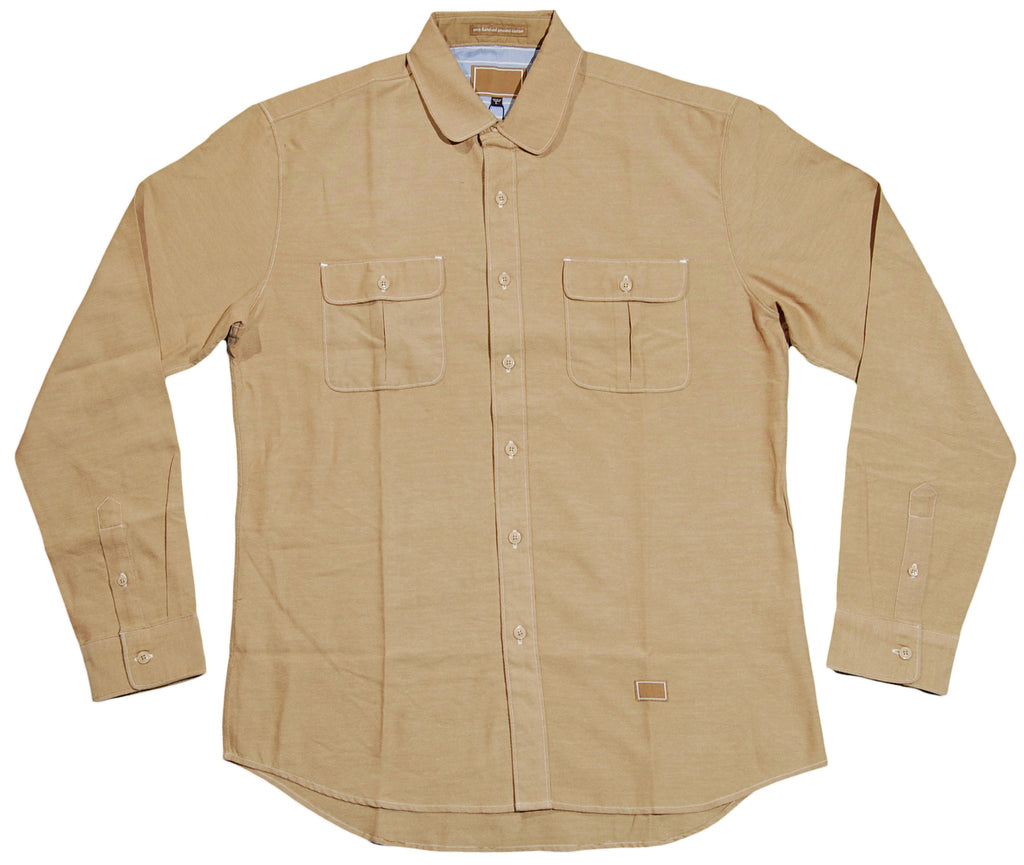 Freshjive - 'Westside' [(Light Brown) Button Down Shirt]