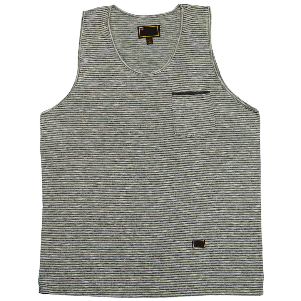 <!--2012030640-->Freshjive - 'Boardwalk - Salt & Pepper' [(Gray) Tank Top]