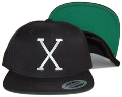 <!--020120828048232-->Freshjive: The Lords of Los Angeles Collection - 'X' [(Black) Snap Back Hat]