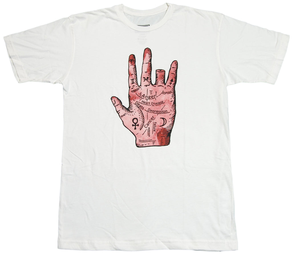 <!--2012041720-->Freshjive - 'Palm Reading' [(White) T-Shirt]