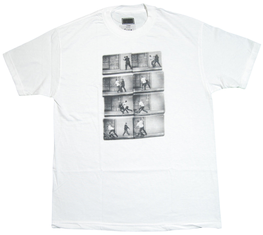 <!--2012082840-->Freshjive: The Lords of Los Angeles Collection - 'Cop Revenge' [(White) T-Shirt]