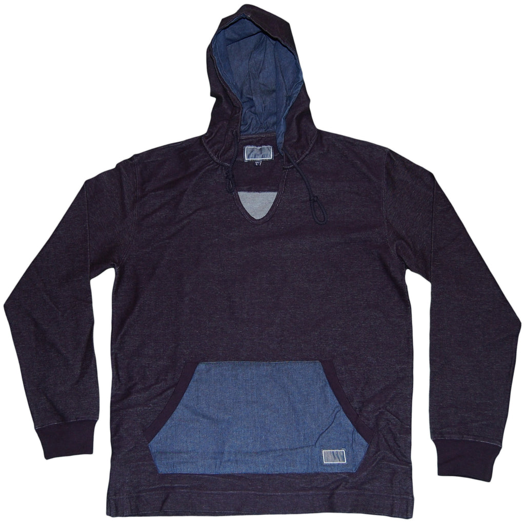 <!--2011101800-->Freshjive - 'Lodger Solid' [(Dark Blue) Hooded Sweatshirt]