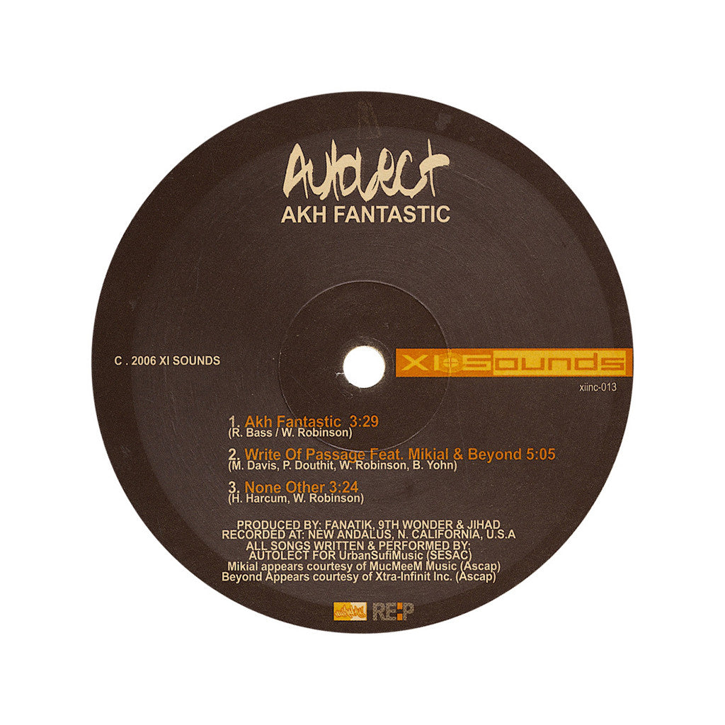 <!--2006100550-->Autolect - 'Akh Fantastic' [Streaming Audio]