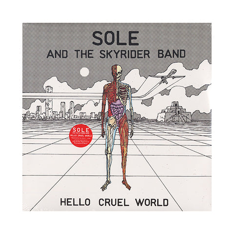 "[""Sole & The Skyrider Band - 'Hello Cruel World' [(Black) Vinyl [2LP]]""]"
