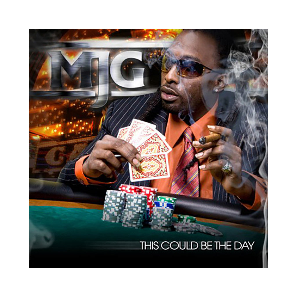 MJG - 'This Might Be The Day' [CD]