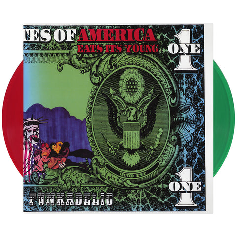 Funkadelic - 'America Eats Its Young' [(Red + Green) Vinyl [2LP]]