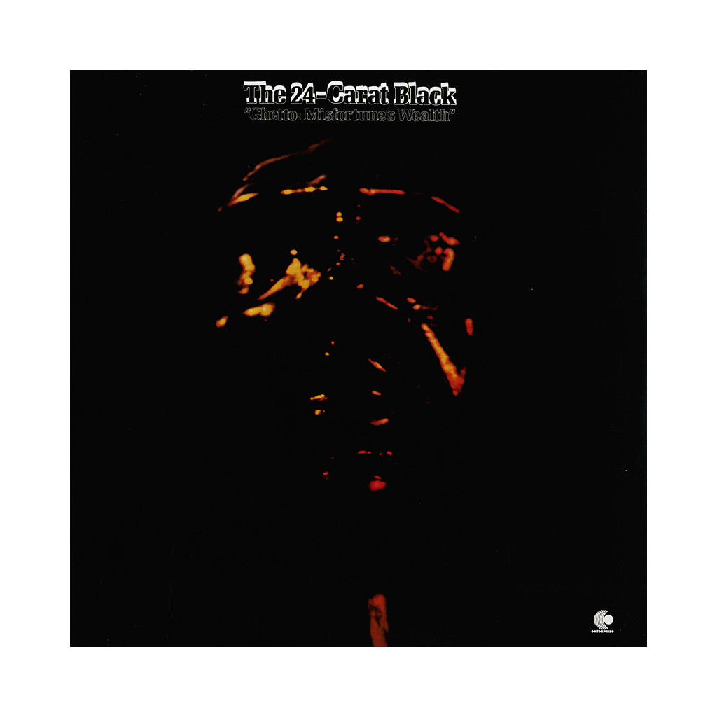 24 Carat Black - 'Ghetto: Misfortune's Wealth' [(Black) Vinyl LP]