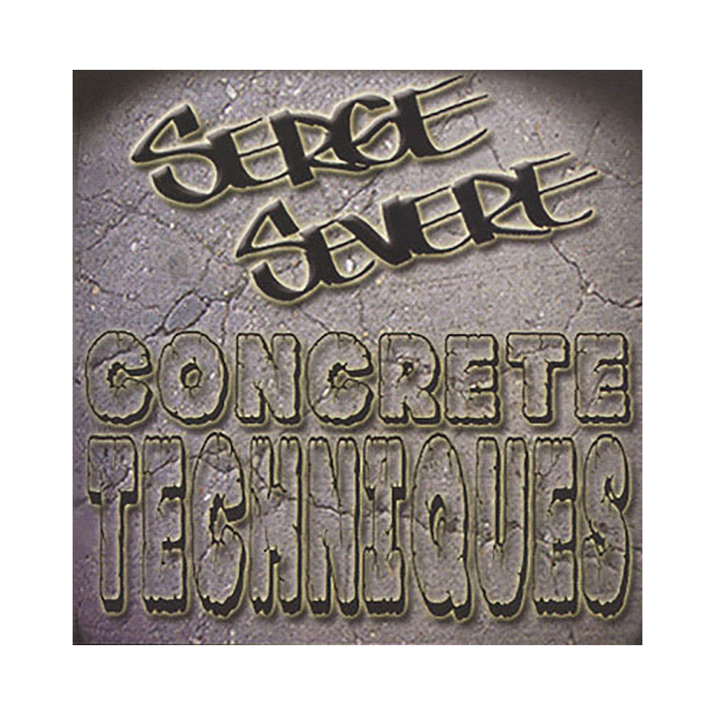 Serge Severe - 'Concrete Techniques' [CD]