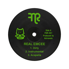 "<!--020110301027902-->Phat Kat - 'Real Emcee/ F.A.N.S.' [(Black) 12"" Vinyl Single]"