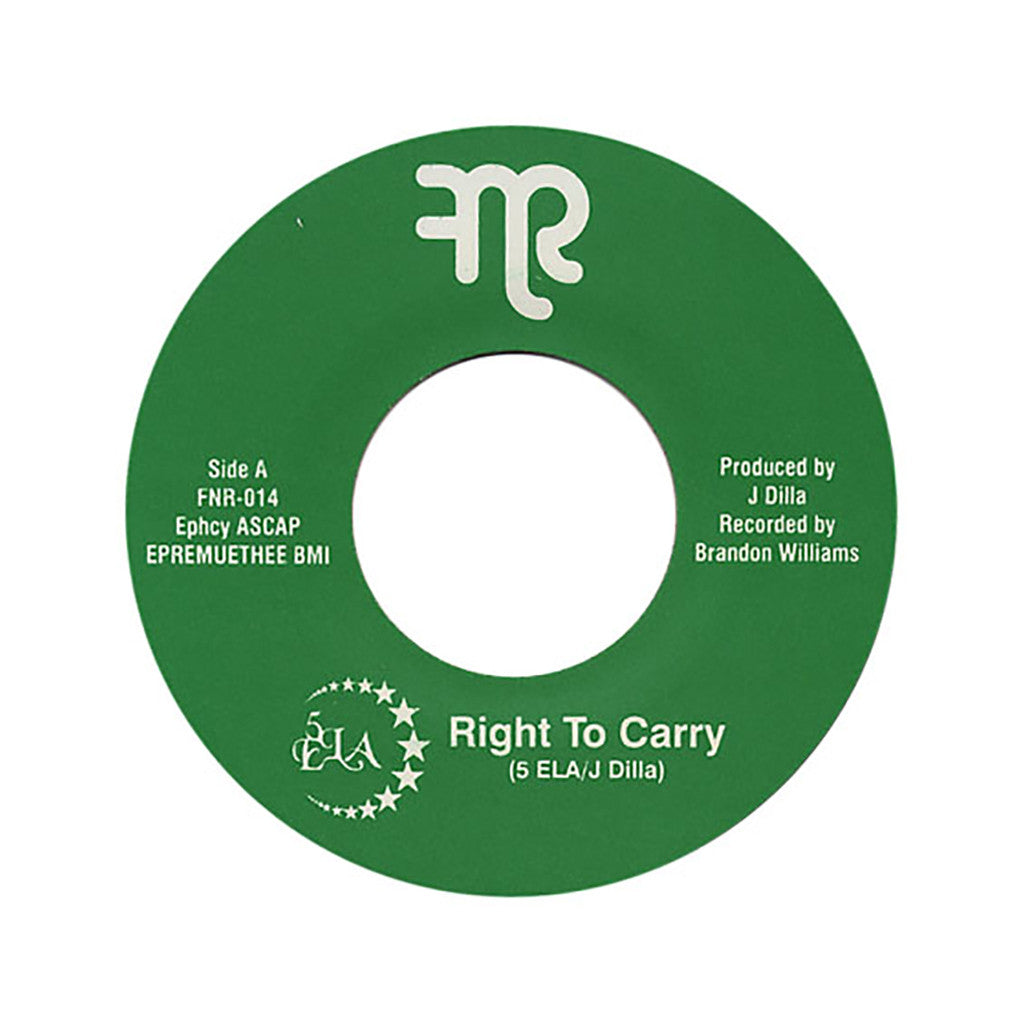 <!--2011081808-->5ELA - 'Right To Carry (INSTRUMENTAL)' [Streaming Audio]