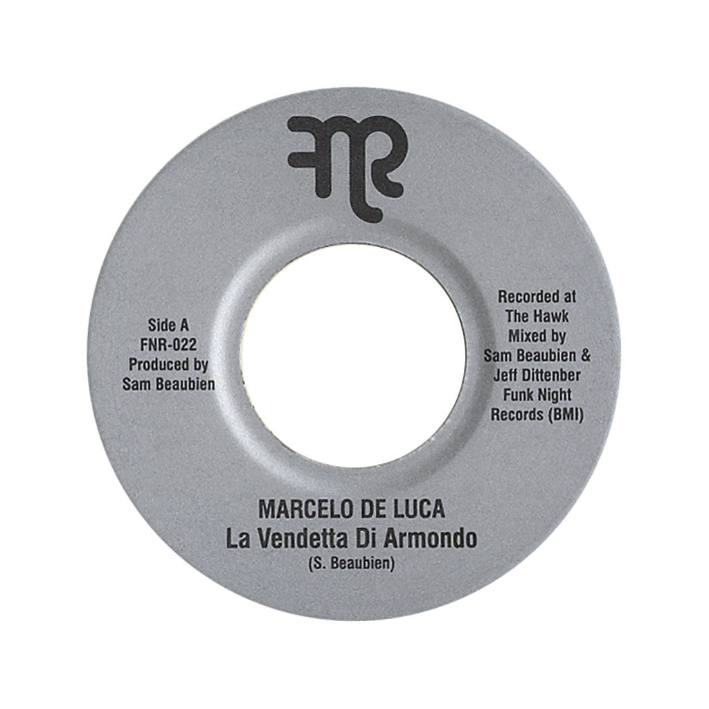 "<!--020120424044005-->Marcelo De Luca - 'La Vendetta Di Armondo/ La Rapina (Lorenzo Morto)' [(Black) 7"""" Vinyl Single]"