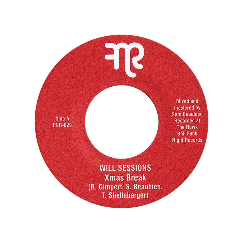 "<!--020121211052062-->Will Sessions - 'Xmas Break/ Have A Funky Holiday' [(Black) 7"" Vinyl Single]"