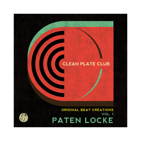 "[""Paten Locke - 'Clean Plate Club Vol. 1: Original Beat Creations' [(Black) Cassette Tape]""]"
