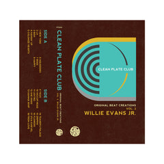Willie Evans Jr. - 'Clean Plate Club Vol. 2' [Cassette Tape]