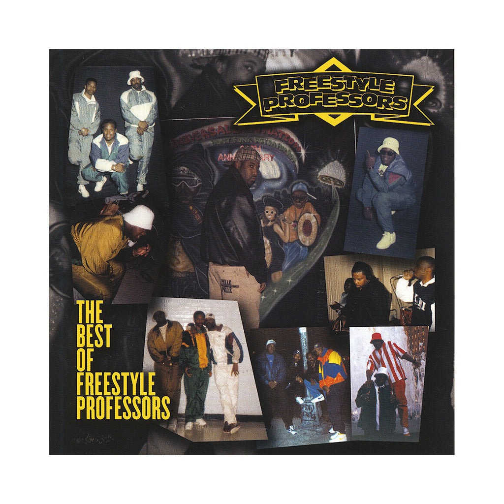 Freestyle Professors - 'The Best Of Freestyle Professors (1994 EP RE-ISSUE + UNRELEASED EP)' [CD]