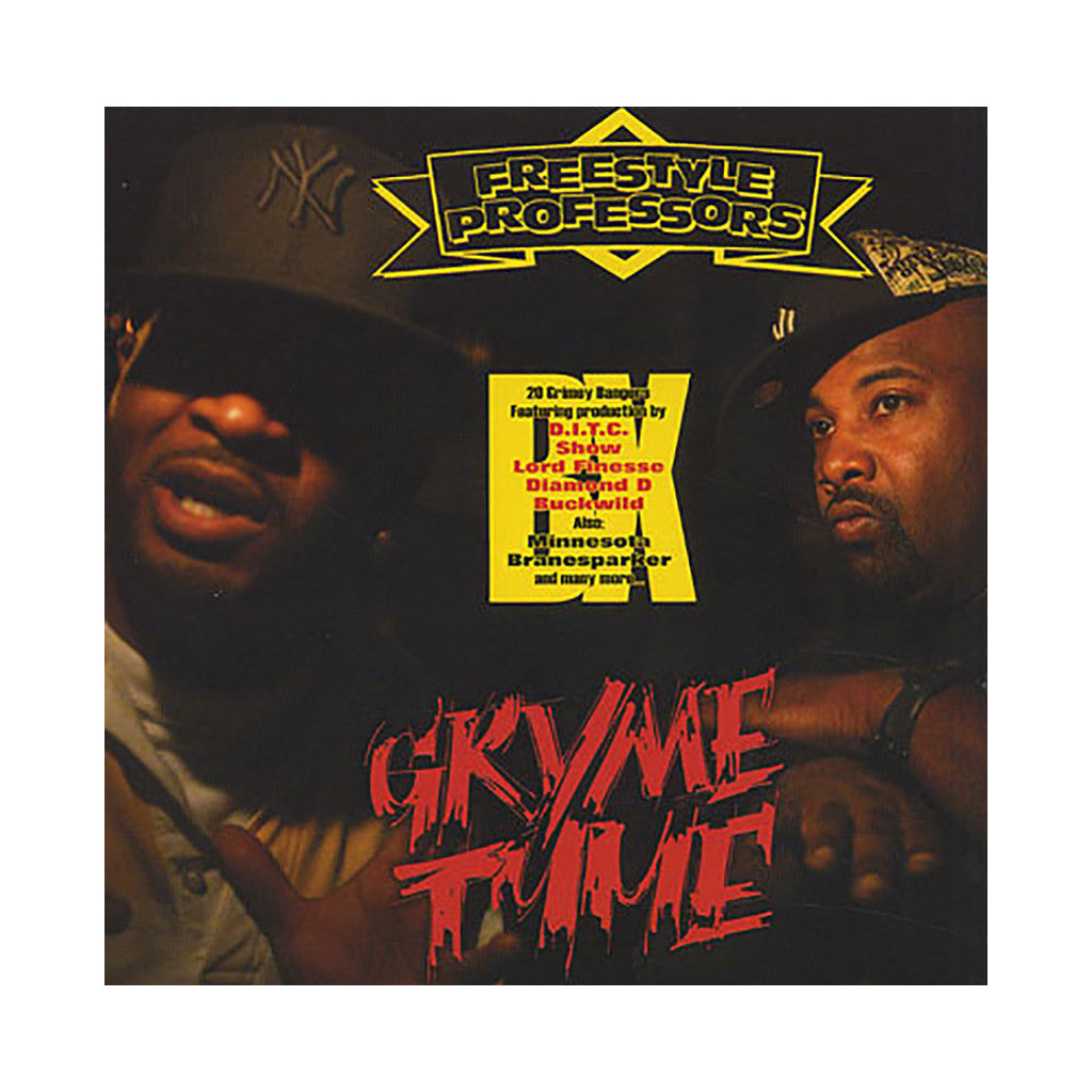 Freestyle Professors - 'Gryme Tyme' [CD]