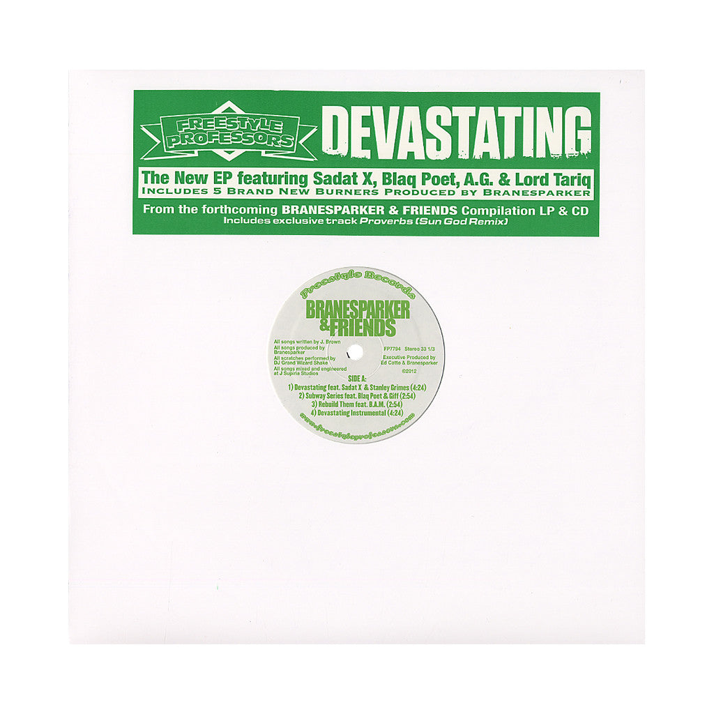 <!--020120731046465-->Freestyle Professors - 'Devastating' [(Black) Vinyl EP]