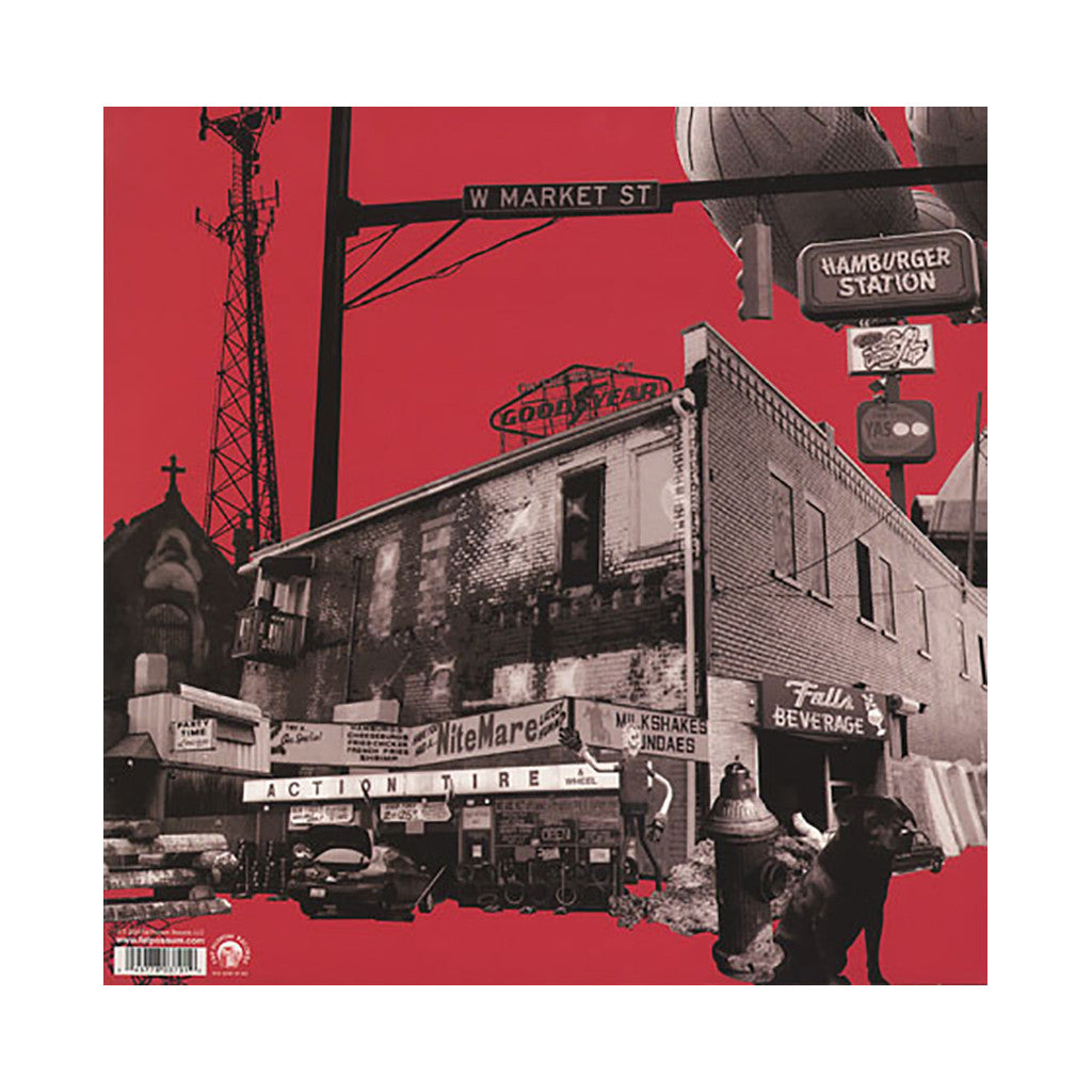 <!--120040907000880-->The Black Keys - 'Rubber Factory' [(Black) Vinyl LP]