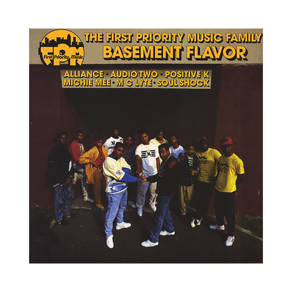 <!--019880101000231-->Various Artists - 'The First Priority Music Family: Basement Flavor' [(Black) Vinyl LP]