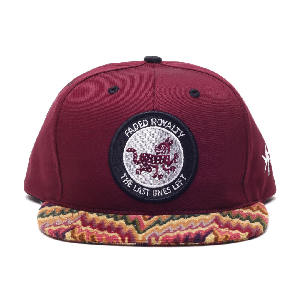 <!--020140717064930-->Faded Royalty - 'Last Ones Left' [(Dark Red) Snap Back Hat]