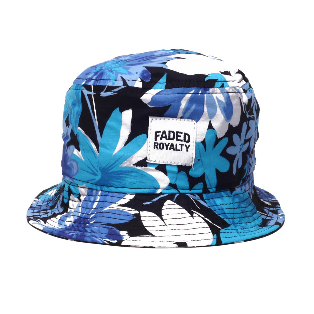 <!--2014071753-->Faded Royalty - 'Clean Floral' [(Black) Bucket Hat]