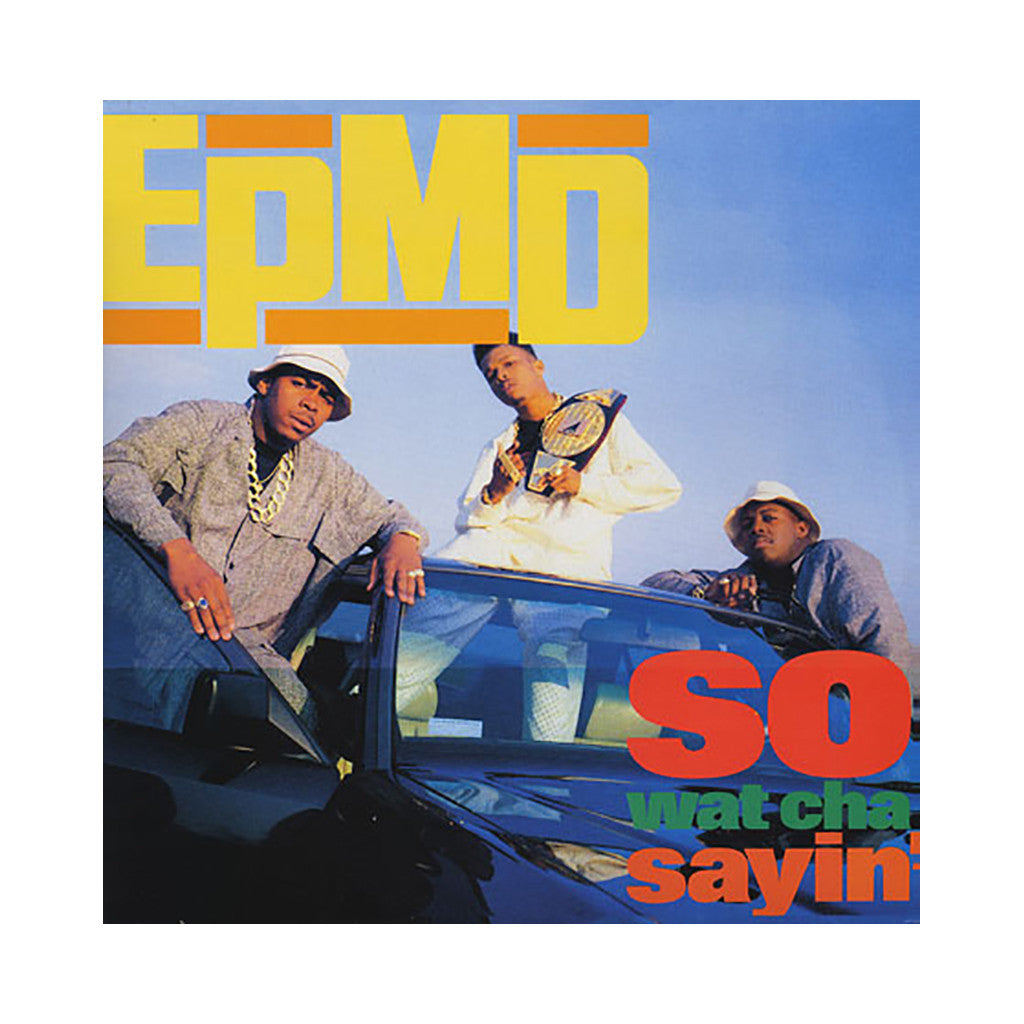 "EPMD - 'So Wat Cha Sayin'' [(Black) 12"" Vinyl Single]"