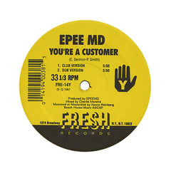 "<!--1987010109-->EPMD - 'You're A Customer/ It's My Thing' [(Black) 12"" Vinyl Single]"