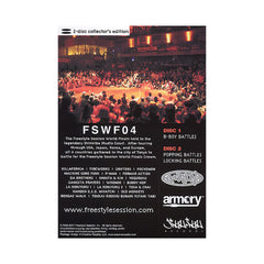 <!--020070605009924-->Freestyle Session (CROS1 Presents) - 'Freestyle Session: World Finals 2004' [DVD [2DVD]]