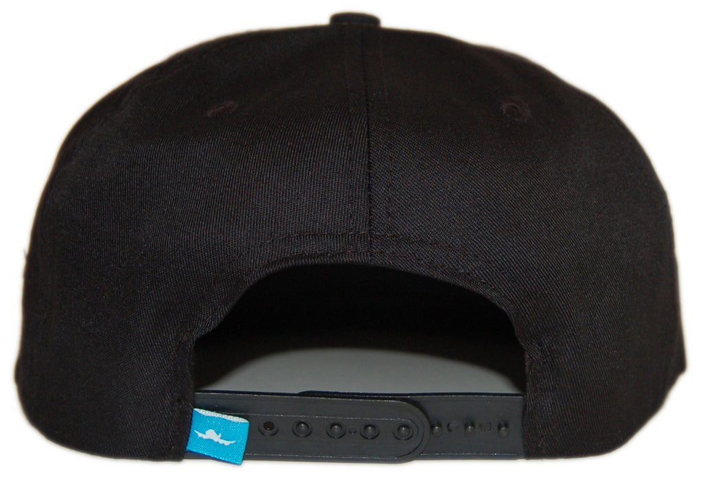 <!--020120814047889-->Fly Society - 'New Classic' [(Black) Snap Back Hat]