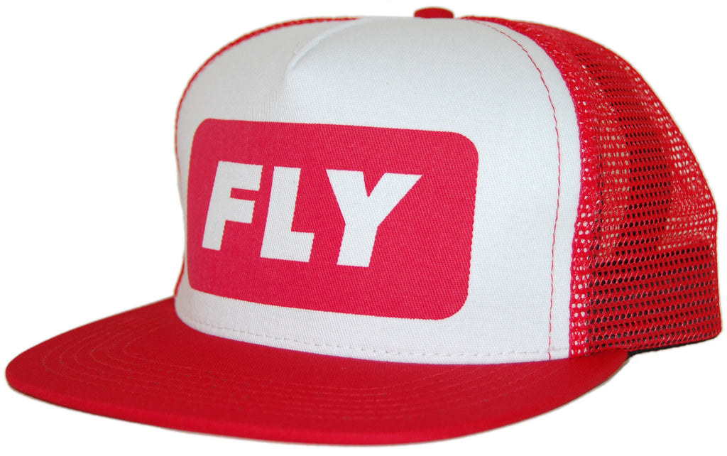 <!--020110705032379-->Fly Society - 'Delivery Trucker' [(Red) Snap Back Hat]