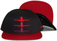<!--020120501044749-->Fly Society - 'Fade' [(Black) Snap Back Hat]