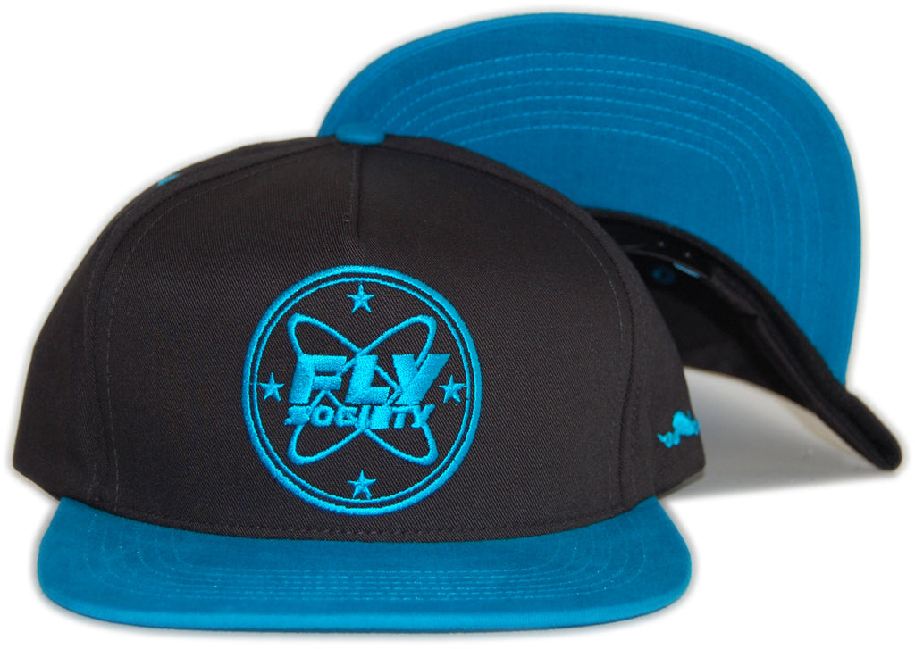 <!--020120501044747-->Fly Society - 'Patch' [(Black) Snap Back Hat]