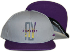 <!--020120501044748-->Fly Society - 'Paradise' [(Gray) Snap Back Hat]