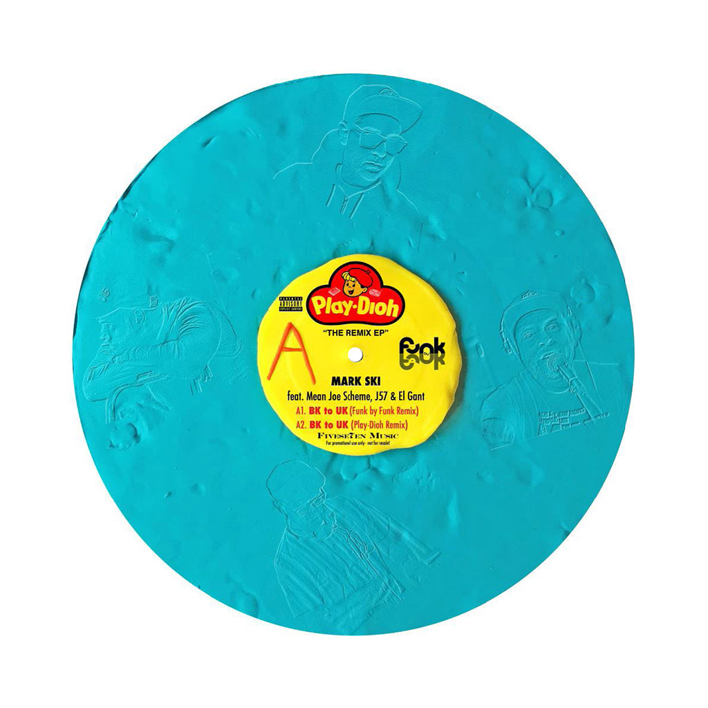 "Mark Ski - 'Play-Dioh: The Remix EP' [(""Play-Doh"" Picture Disc) Vinyl [10""]]"