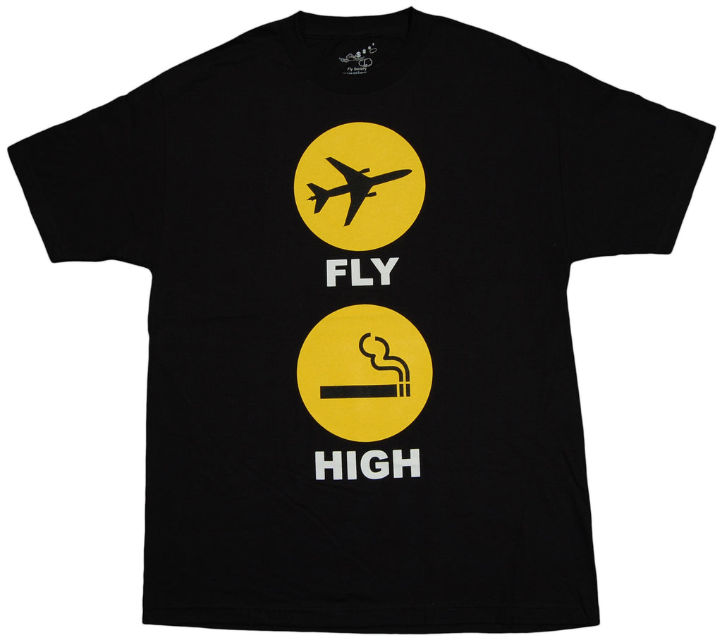 Fly Society - 'Smoking Signs' [(Black) T-Shirt]