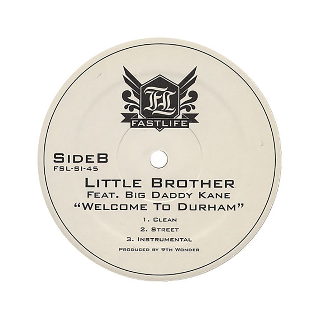 "Little Brother - 'Ain't Nobody Like Me/ Welcome To Durham' [(Black) 12"" Vinyl Single]"