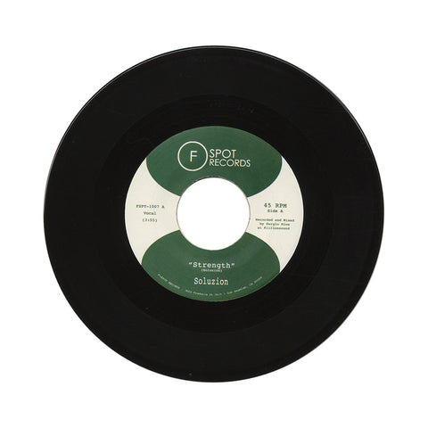 "[""Soluzion - 'Strength/ Nyoka' [(Black) 7\"" Vinyl Single]""]"