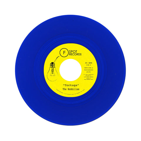 "The Bombillas - 'Tortuga/ Kings Up' [(Blue) 7"" Vinyl Single]"