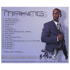<!--020091103019413-->Final Second - 'The Making: The Mechanics Of Music And Life' [CD]