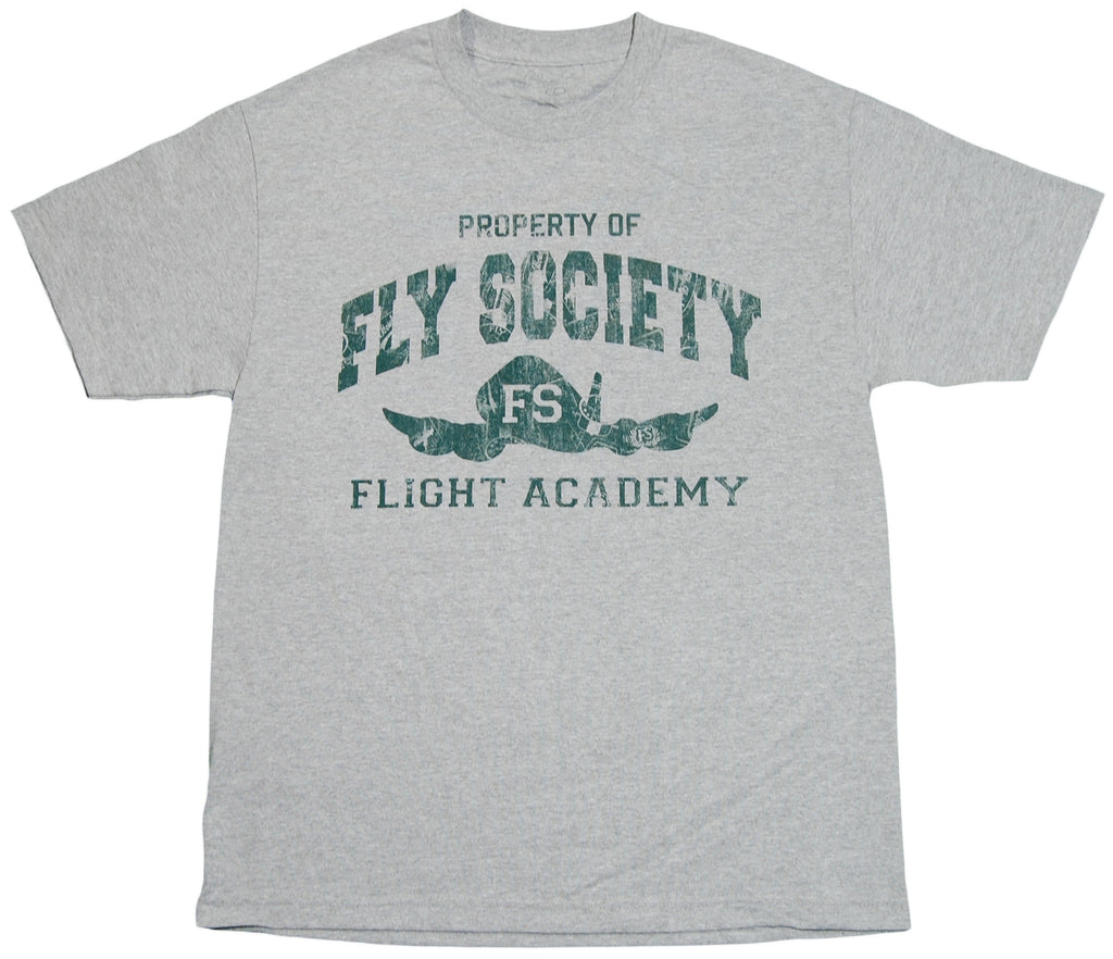 <!--2011112245-->Fly Society - 'Flight Academy' [(Gray) T-Shirt]