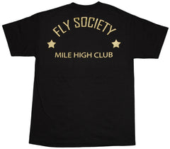 <!--2011112233-->Fly Society - 'Aviators Club' [(Black) T-Shirt]