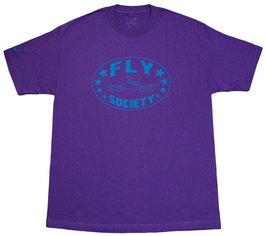 <!--2012051553-->Fly Society - 'New Classic' [(Purple) T-Shirt]