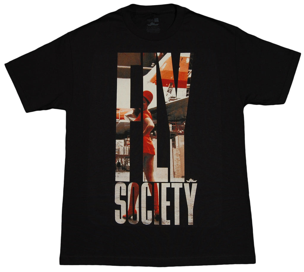 <!--2012051505-->Fly Society - 'Stewardess' [(Black) T-Shirt]