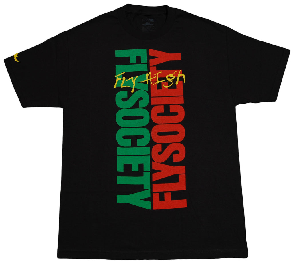 <!--2012051527-->Fly Society - 'Fly High' [(Black) T-Shirt]
