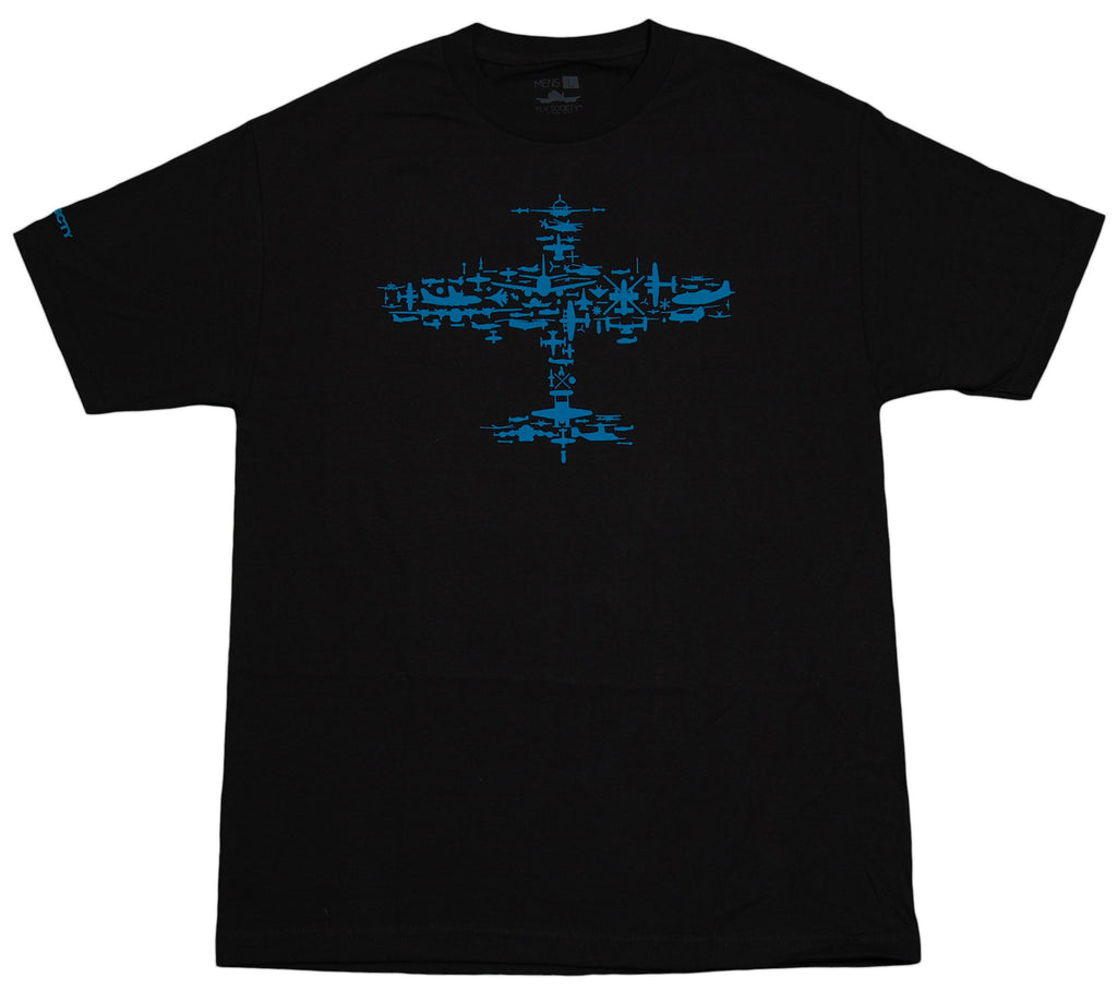 <!--2012051555-->Fly Society - 'Collage' [(Black) T-Shirt]