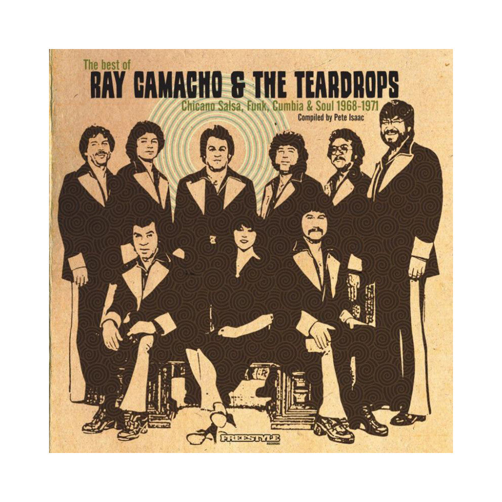 Ray Camacho & The Teardrops - 'The Best Of Ray Camacho & The Teardrops' [CD]