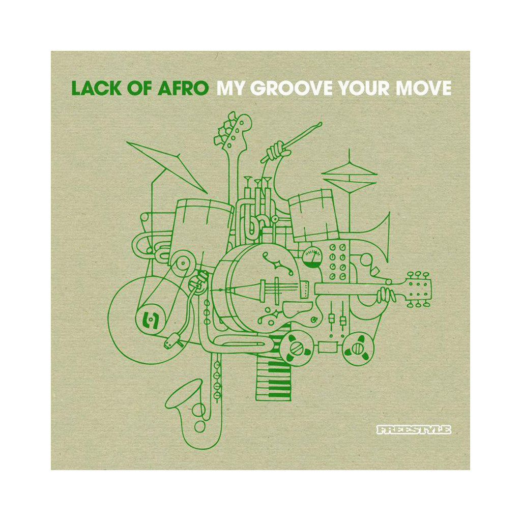 Lack Of Afro - 'My Groove You Move' [CD]