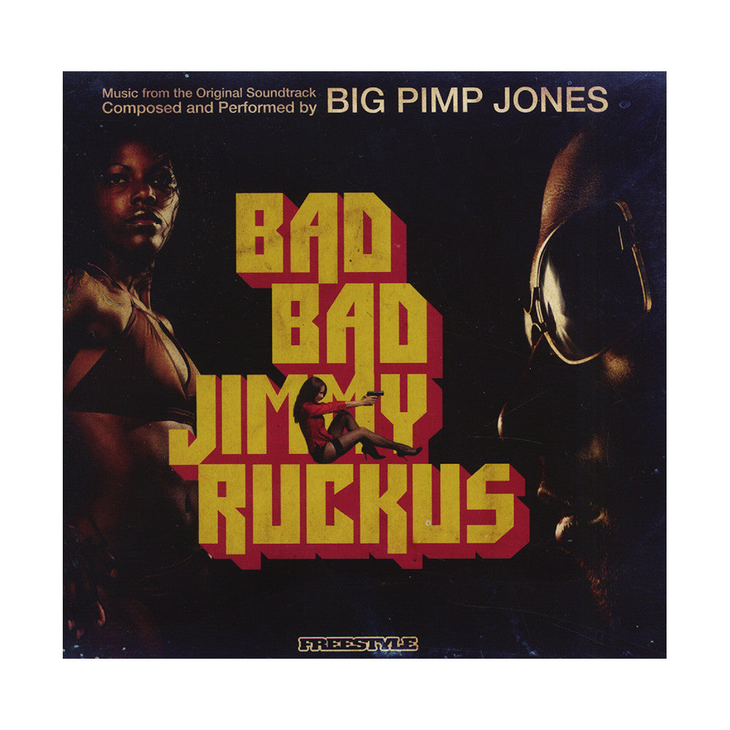 <!--120090908004534-->Big Pimp Jones - 'Bad Bad Jimmy Ruckus' [CD]