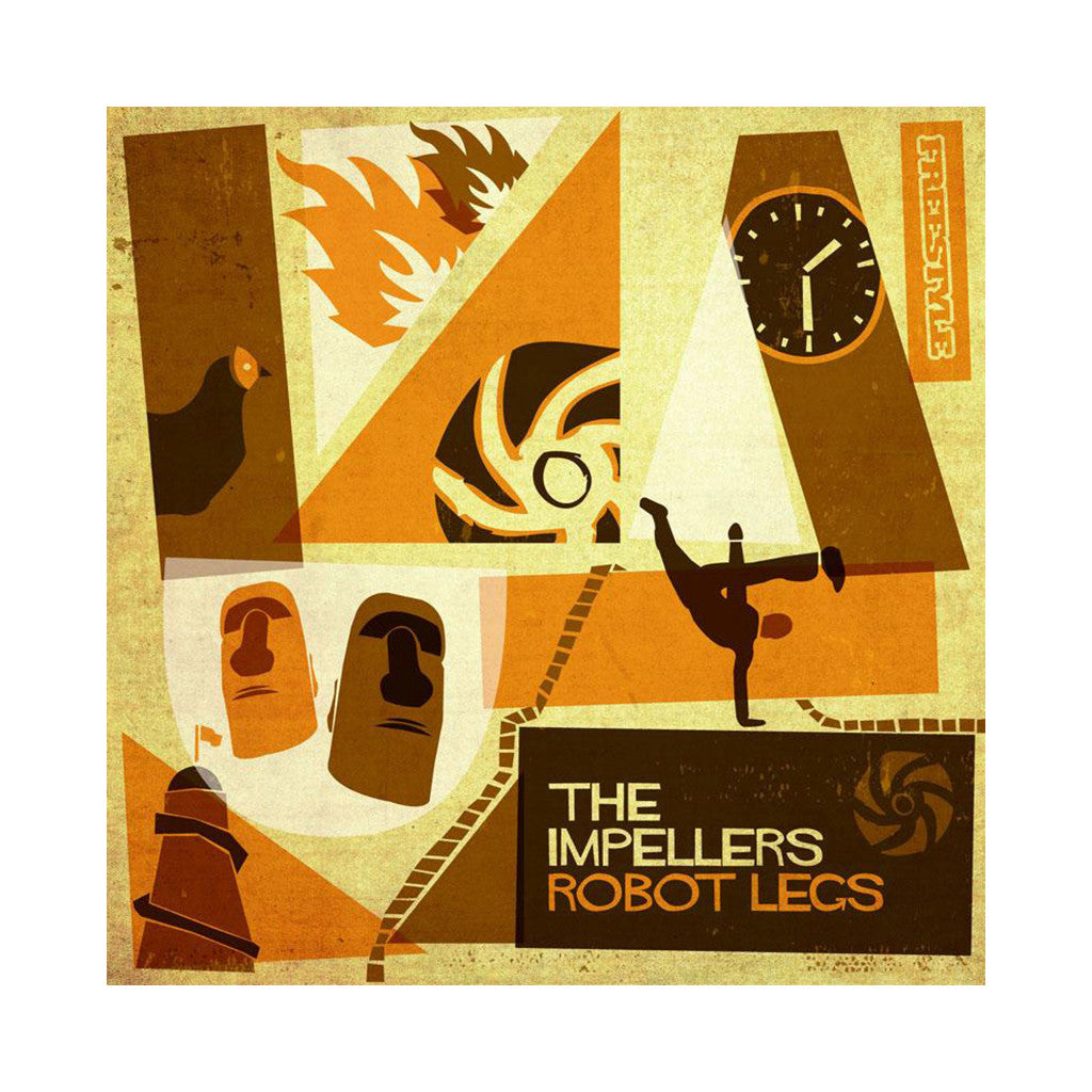 The Impellers - 'Robot Legs' [(Black) Vinyl LP]