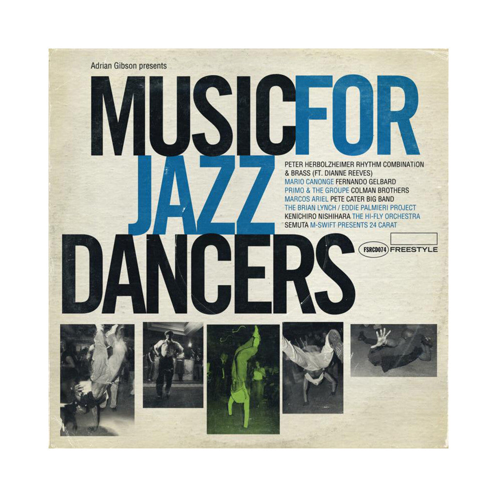 <!--020100531000433-->Various Artists - 'Music For Jazz Dancers' [CD]